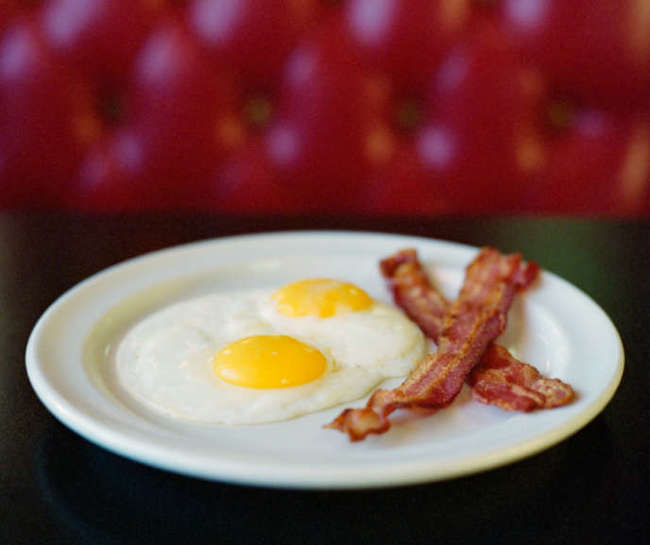 simple foods loved by all American but hates by foreigners Bacon and Eggs