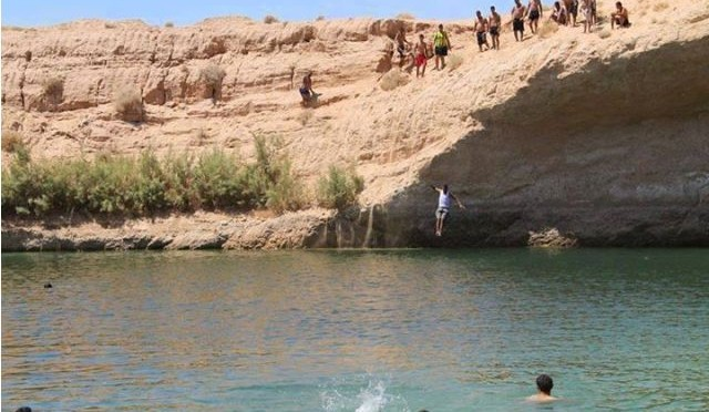 mysterious 'lake' appears in middle of Tunisian desert