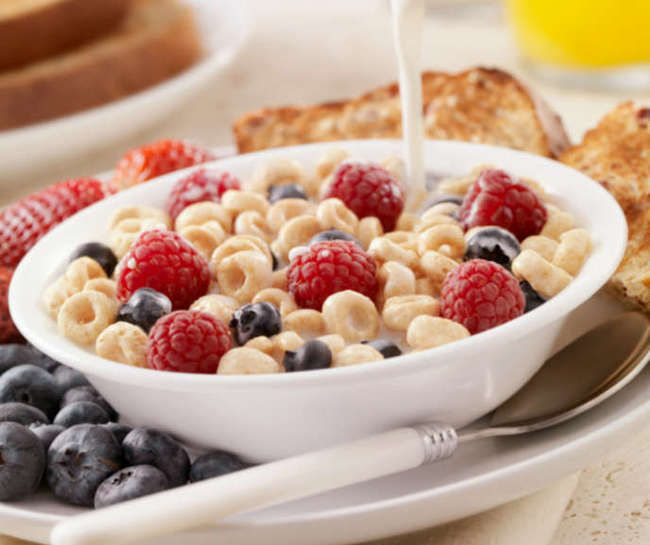 simple foods loved by all American but hates by foreigners Cereal
