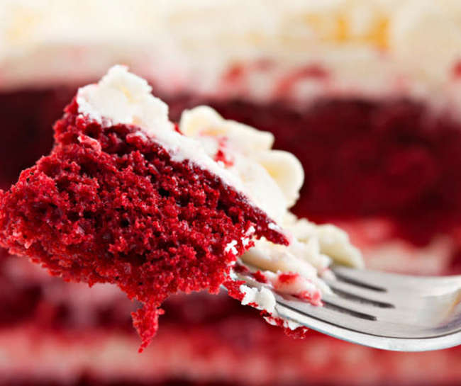 simple foods loved by all American but hates by foreigners Red Velvet Cake