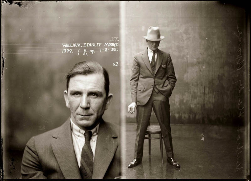 Mugshots from the 1920s