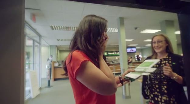 TD bank in Canada gave some of their regular customers a life-changing surprise.