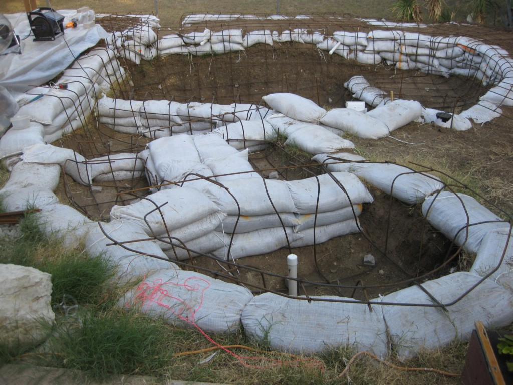 Awesome DIY pool construction