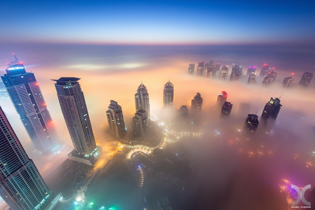 fancy photographs of some big cities by Daniel Cheong   Cryogenic Dreams