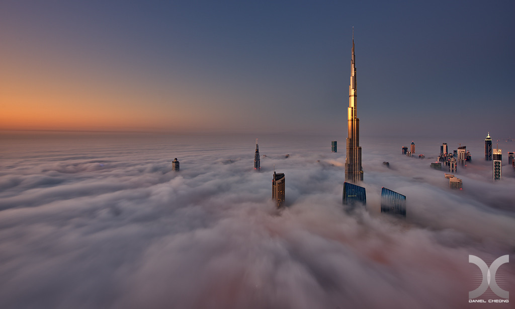fancy photographs of some big cities by Daniel Cheong   Cryogenic Sunrise