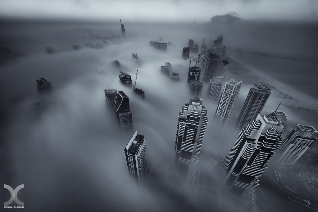 fancy photographs of some big cities by Daniel Cheong   Cryogenisation
