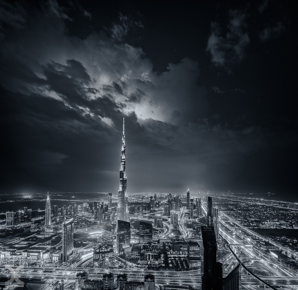 fancy photographs of some big cities by Daniel Cheong   Electric Dubai