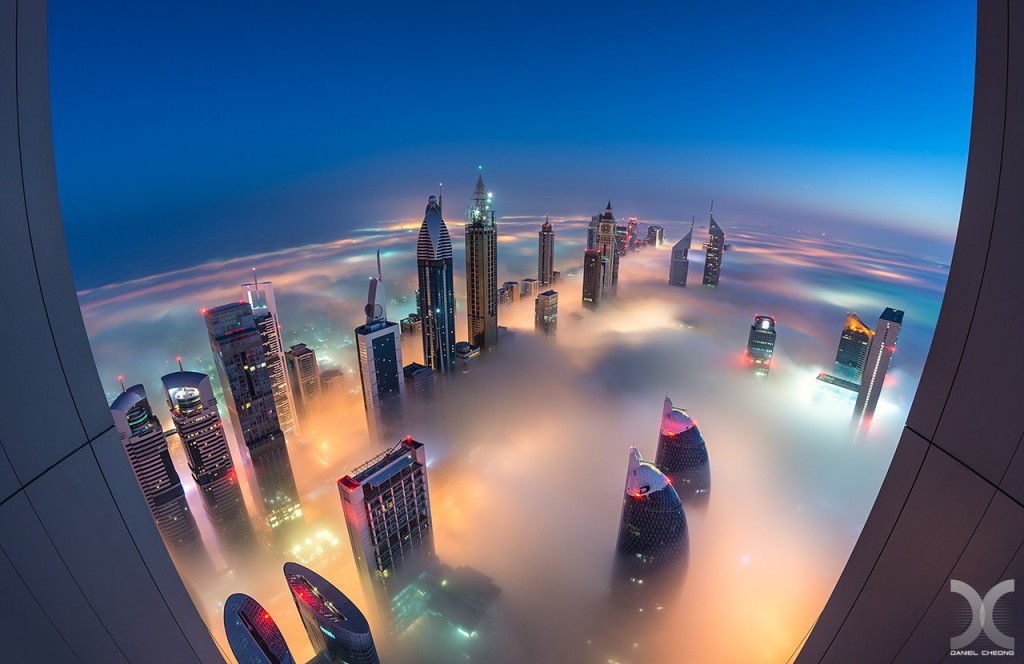 fancy photographs of some big cities by Daniel Cheong   Landing on Planet Dubai
