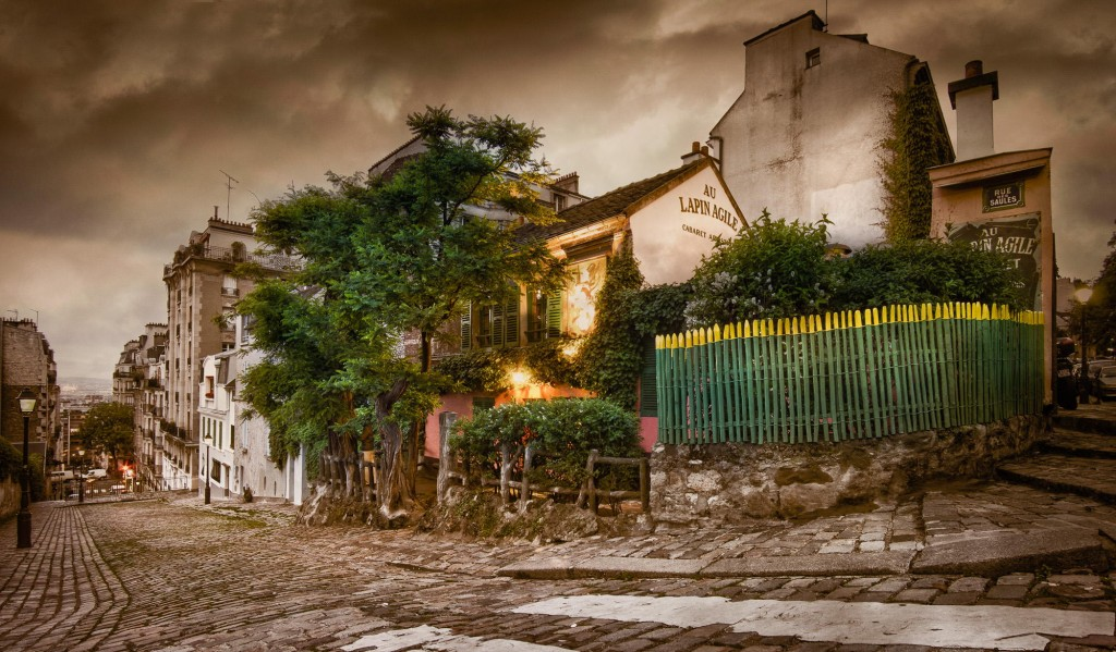 travel photography of French you don't want to miss Lapin Agile