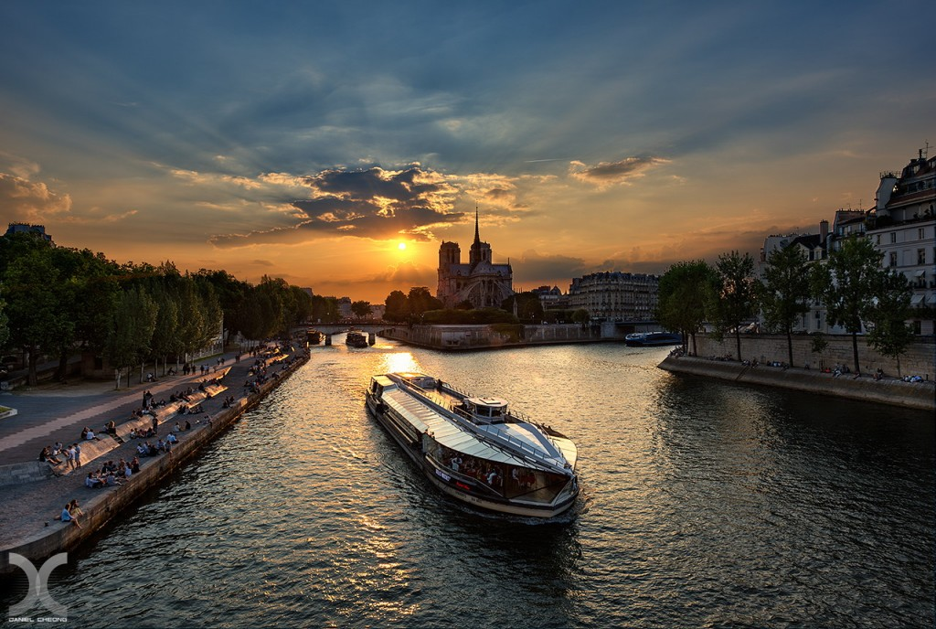 fancy photographs of some big cities by Daniel Cheong   Paris will always be Paris
