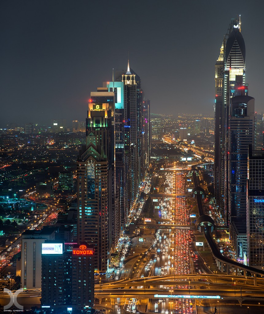 fancy photographs of some big cities by Daniel Cheong   Rush Hour
