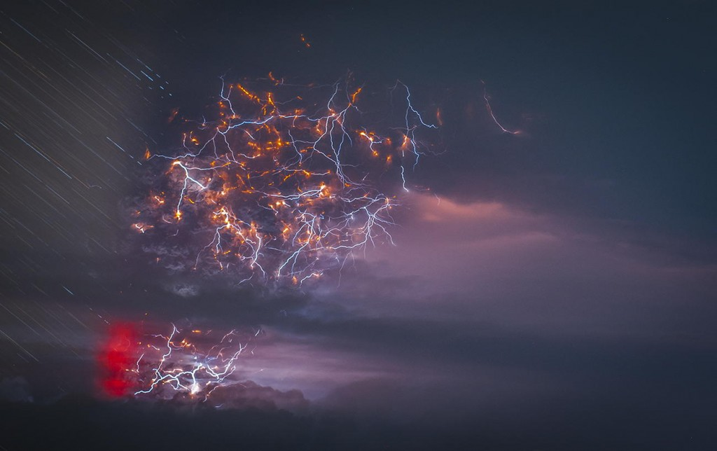 spectacular photographs by Francisco Negroni Tormenta electrica Volcanica