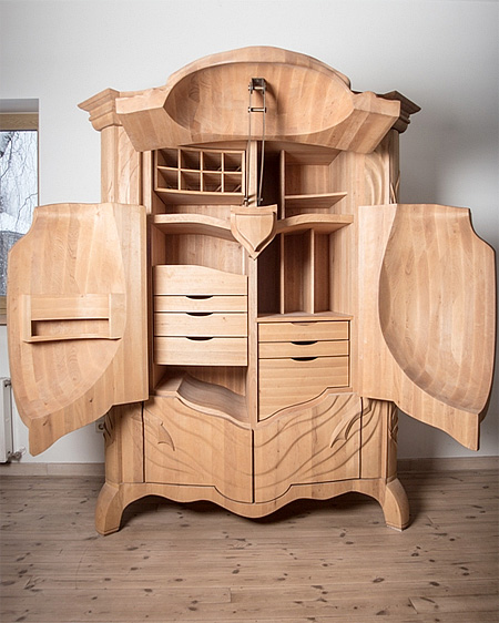 a beetle cabinet that may have some fasicnating story