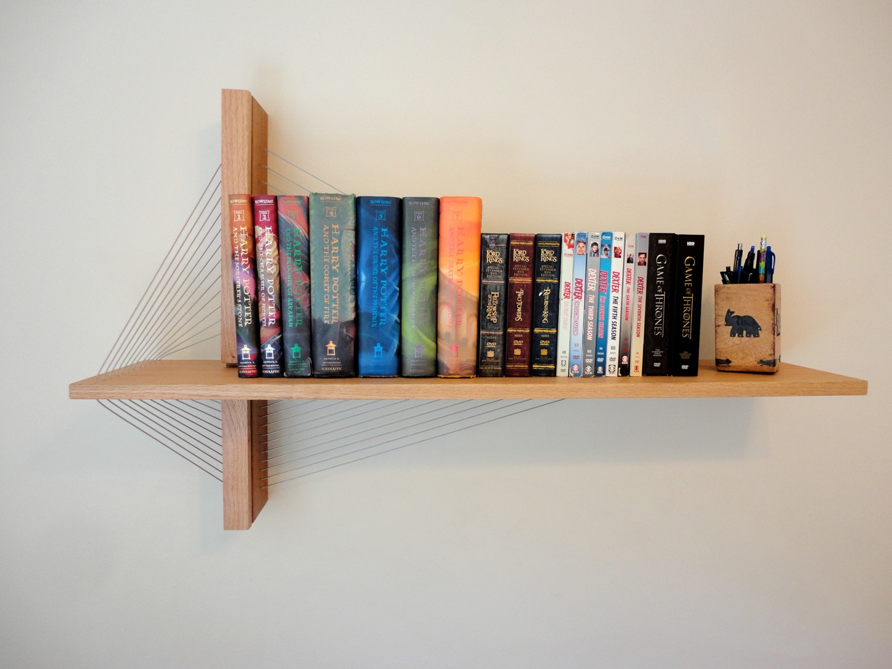 Awesome furniture are held together only by tension Harry Potter and Game of Thrones