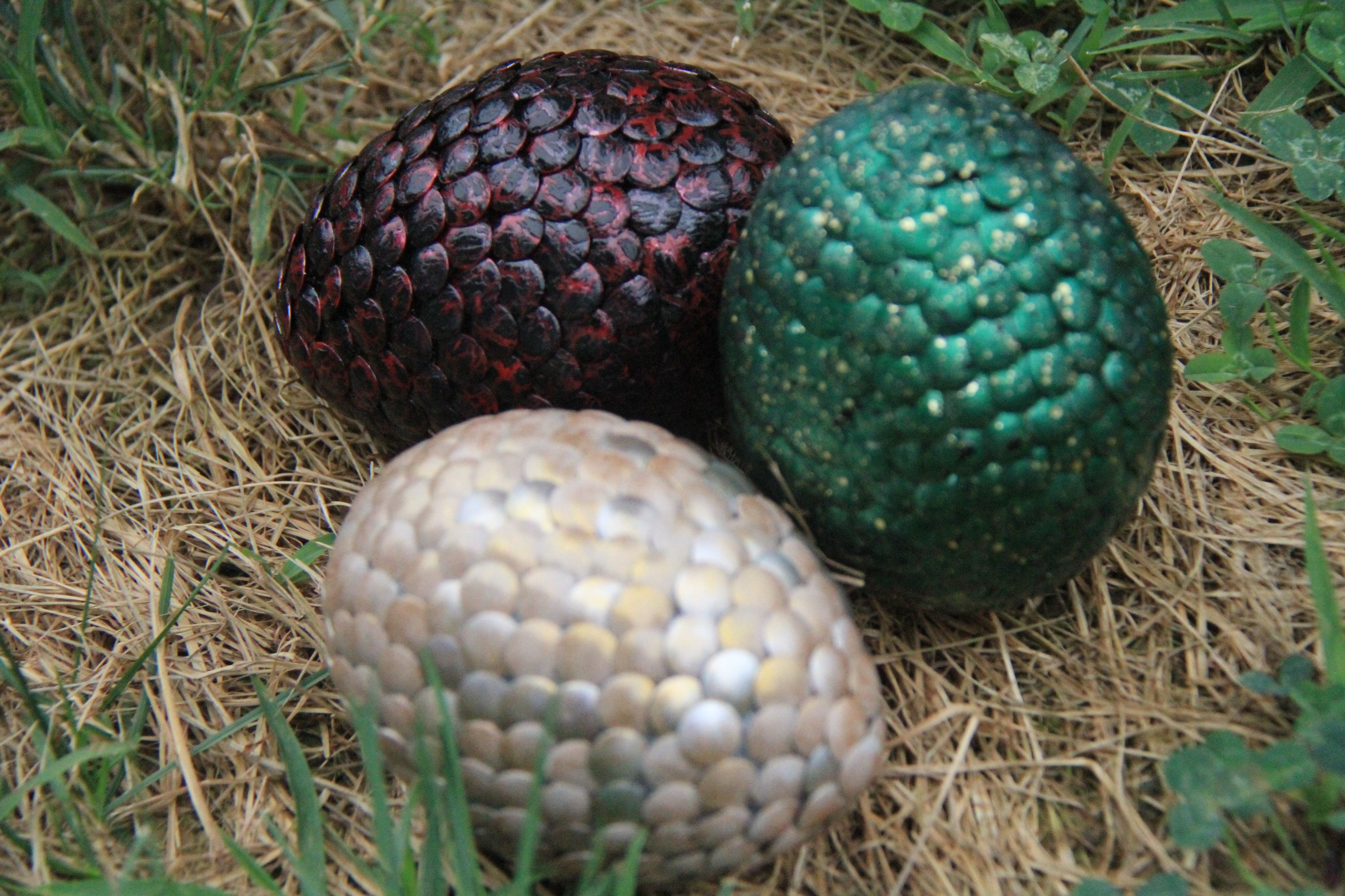 diy dragon eggs from the game of thrones they were