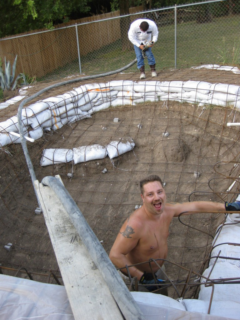 Build Your Own Pool This Diy Rock Pool Construction Is