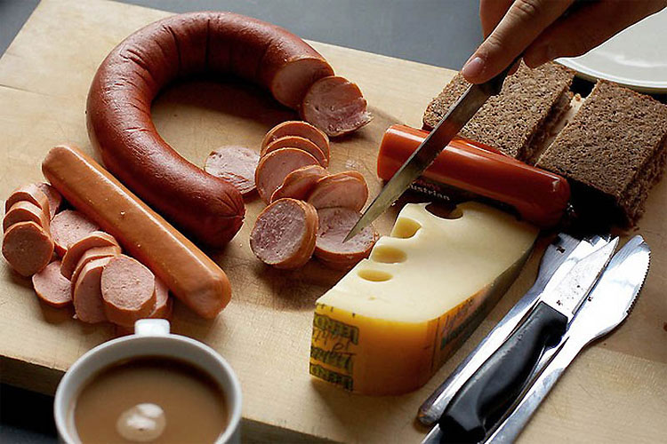 delicious breakfast around the world Germany