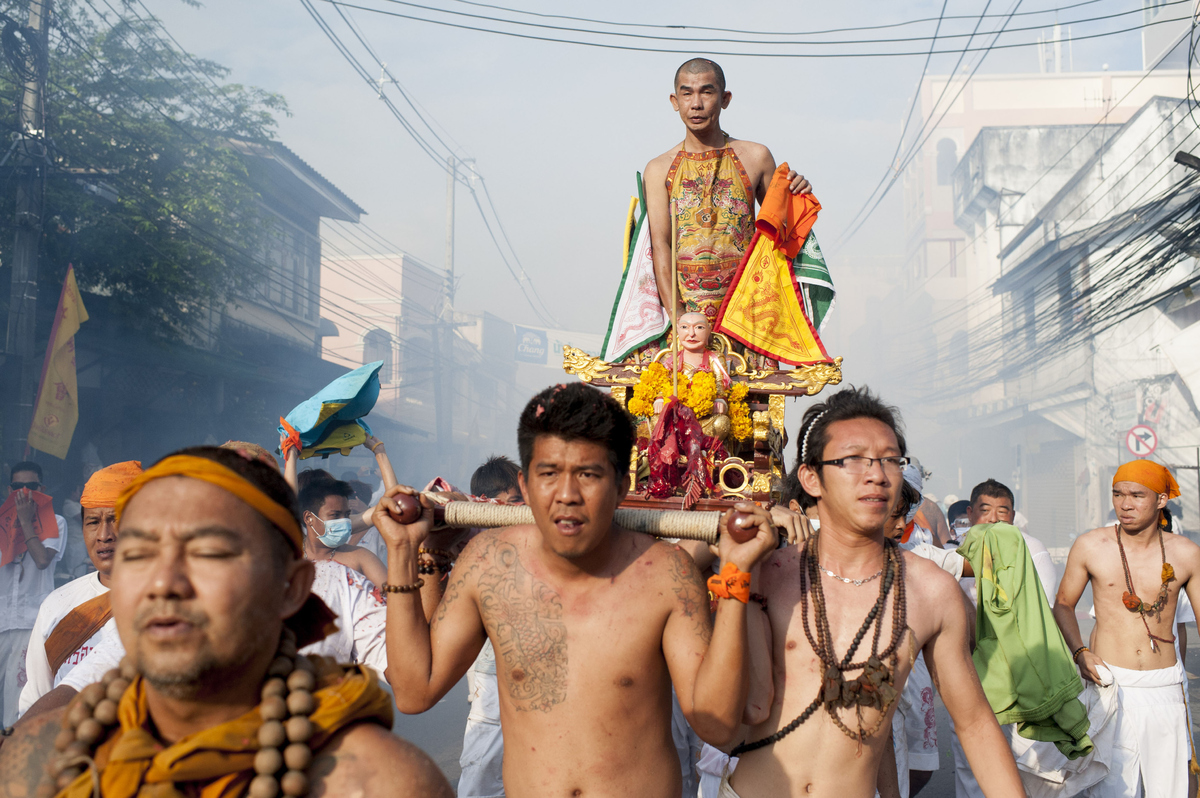 Thailand's Vegetarian Festival Is Painfully Awesome