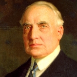 28.) Warren G. Harding once gambled away a set of White House fine china.