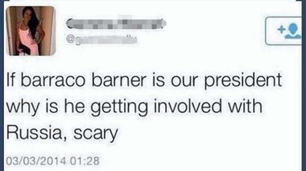 Barraco Barner's foreign policy: