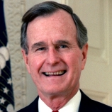 40.) George H.W Bush survived 4 plane crashes in WWII.