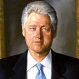 41.) Bill Clinton has the most symmetrical face out of any president.