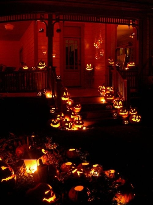 Eh, I feel like this house could use one more pumpkin.