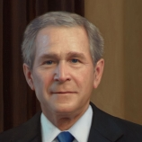 42.) George W. Bush was the captain of the cheerleading team in college.