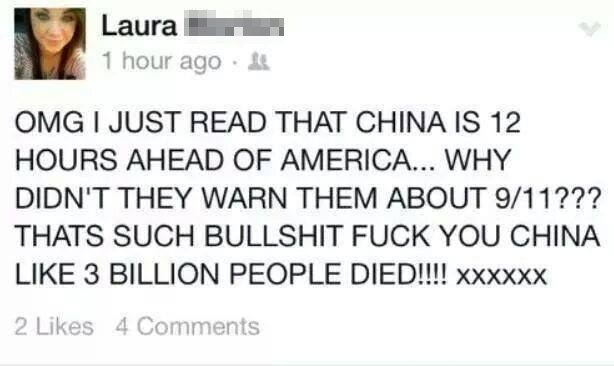 Laura's conspiracy theory: