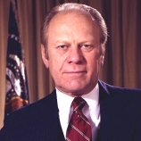 37.) Gerald Ford was a model in college and once appeared on the cover of <i>Cosmopolitan</i>.