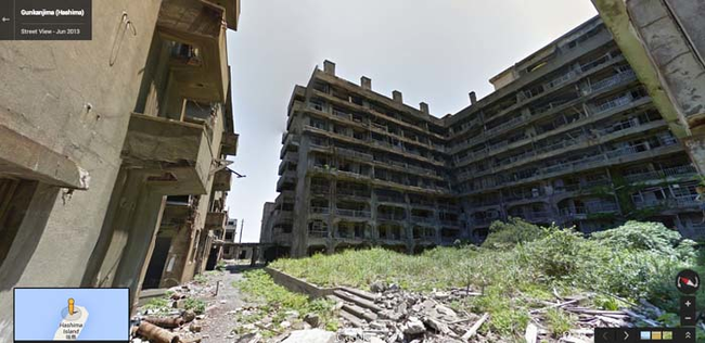 24.) Something about these abandoned buildings is very unsettling.