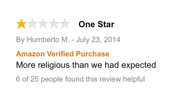 """23.) An ironic review of """"Heaven Is For Real."""""""