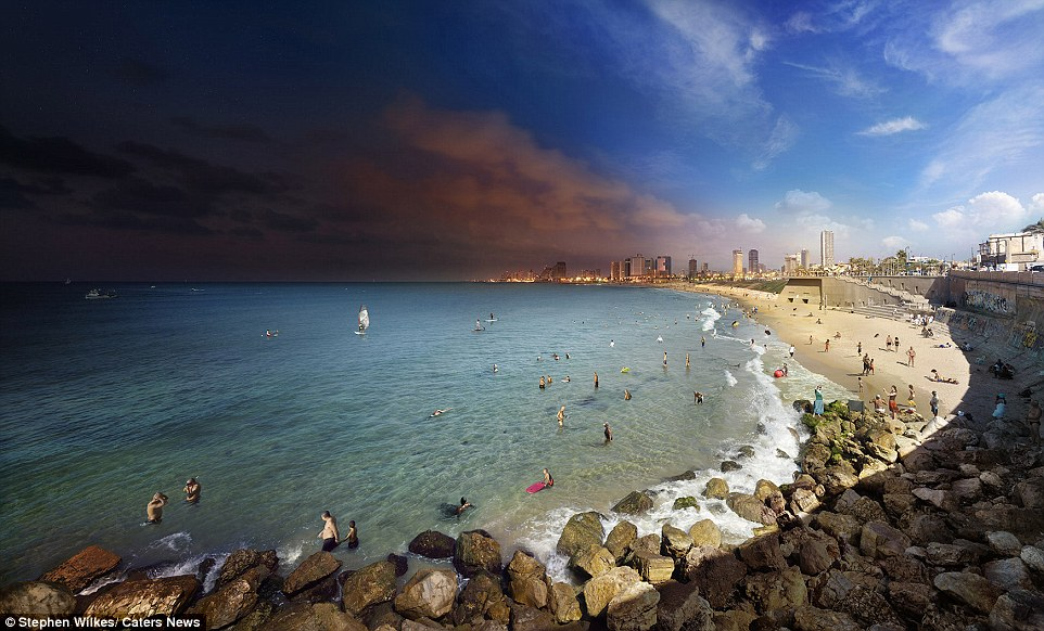 Tel Aviv: A book is also set to be released once he has reached 40 day-to-night works