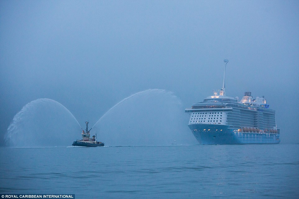Quantum of the Seas will be followed by another Quantum class ship, Anthem of the Seas, next year