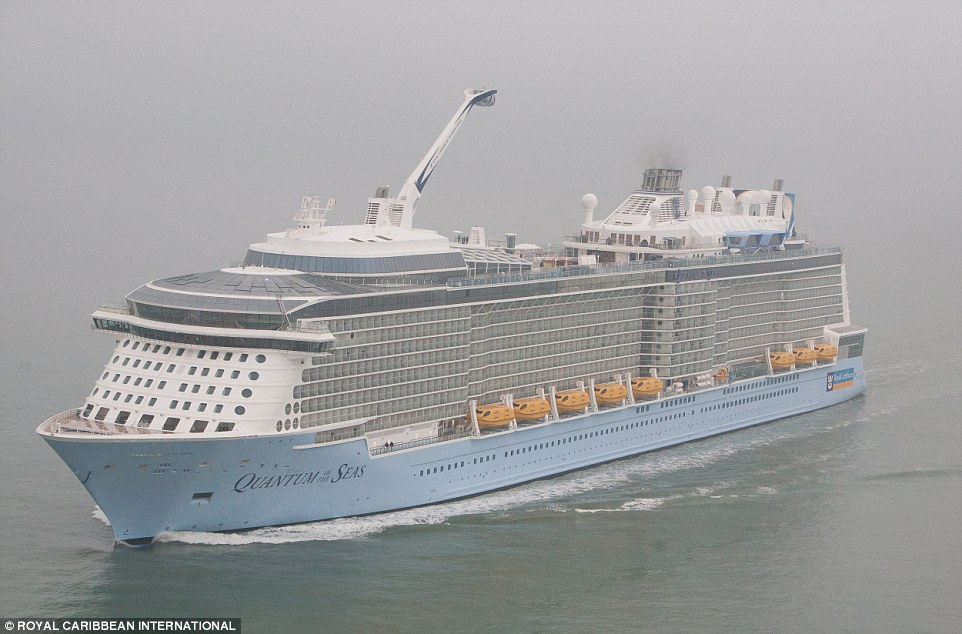 Quantum Of The Seas The Worlds Third Largest Smartship Arrives - First cruise ship in the world