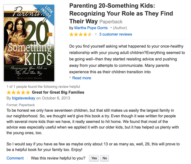 16.) A misunderstood review of how to Parent 20 -something kids.