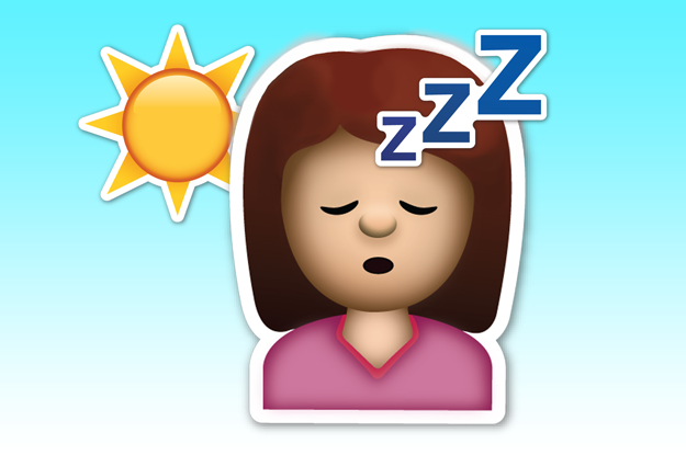 """The """"It's 2 p.m., Time For A Nap!"""" Emoji:"""