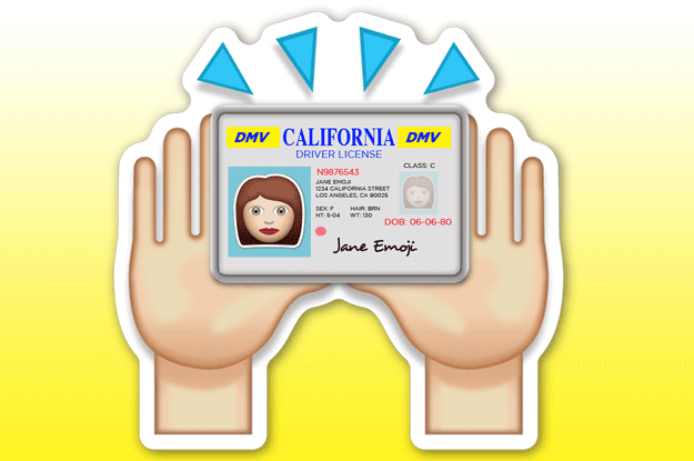 """The """"Raising Both Hands In Celebration Of Getting Carded"""" Emoji:"""