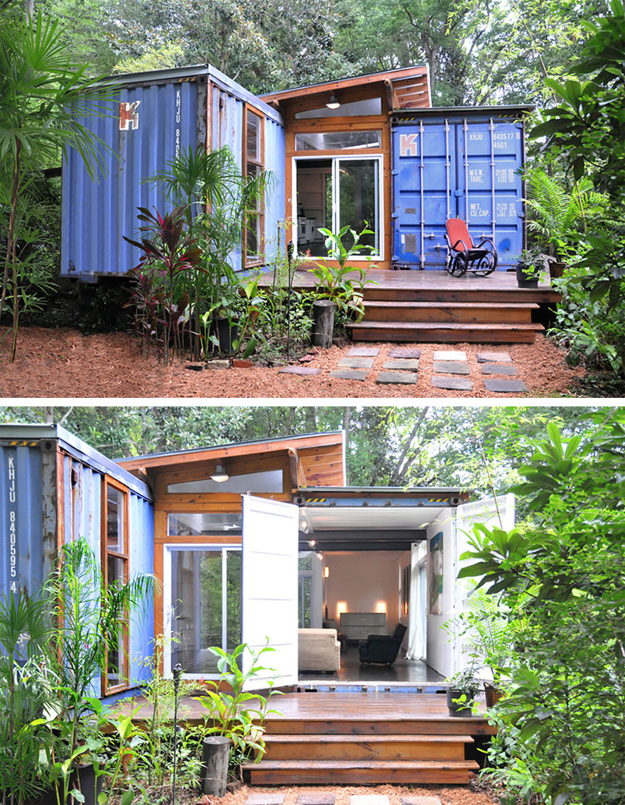 Savannah Container Home in Savannah, Georgia