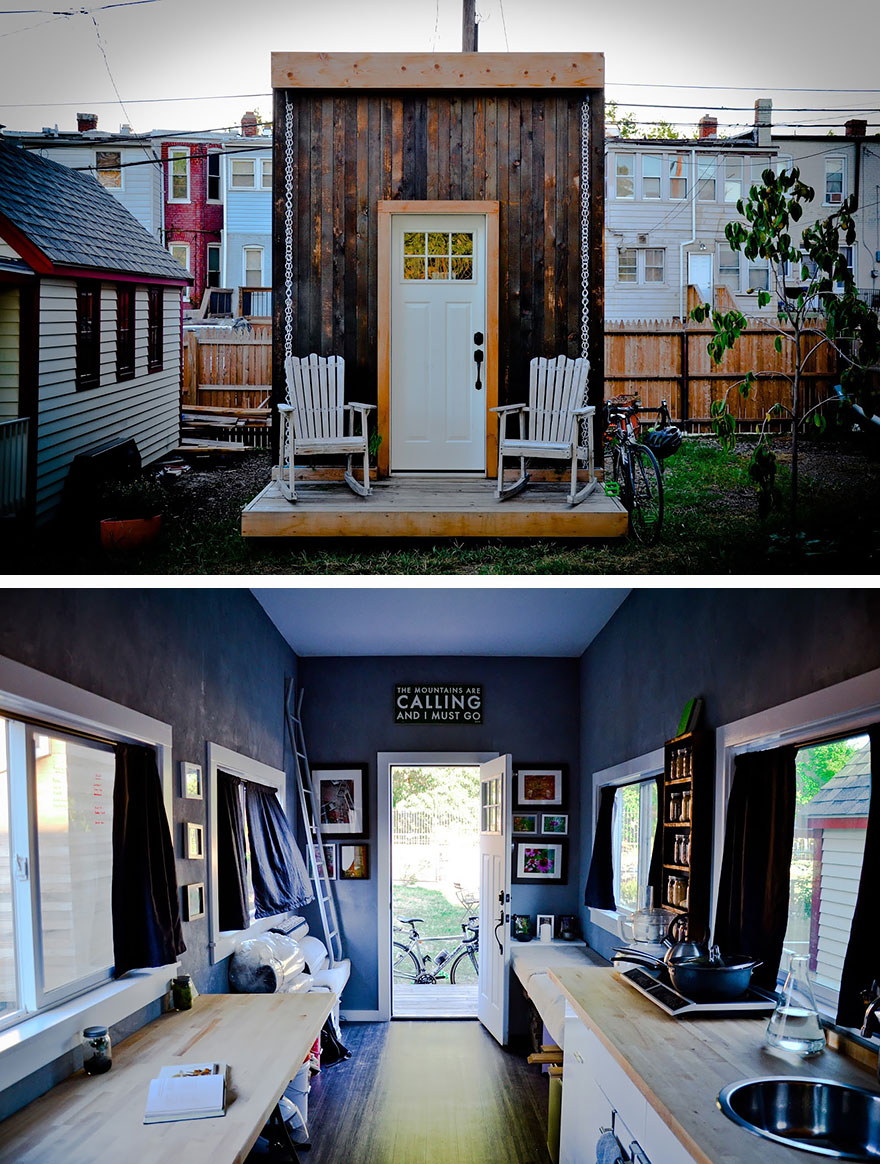 The Matchbox: A Self-Sustaining Tiny Home In DC