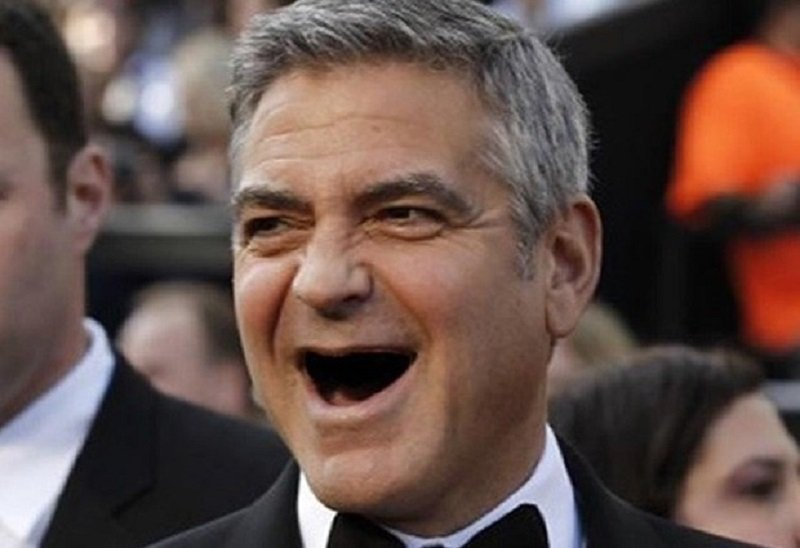 George Clooney Without Teeth