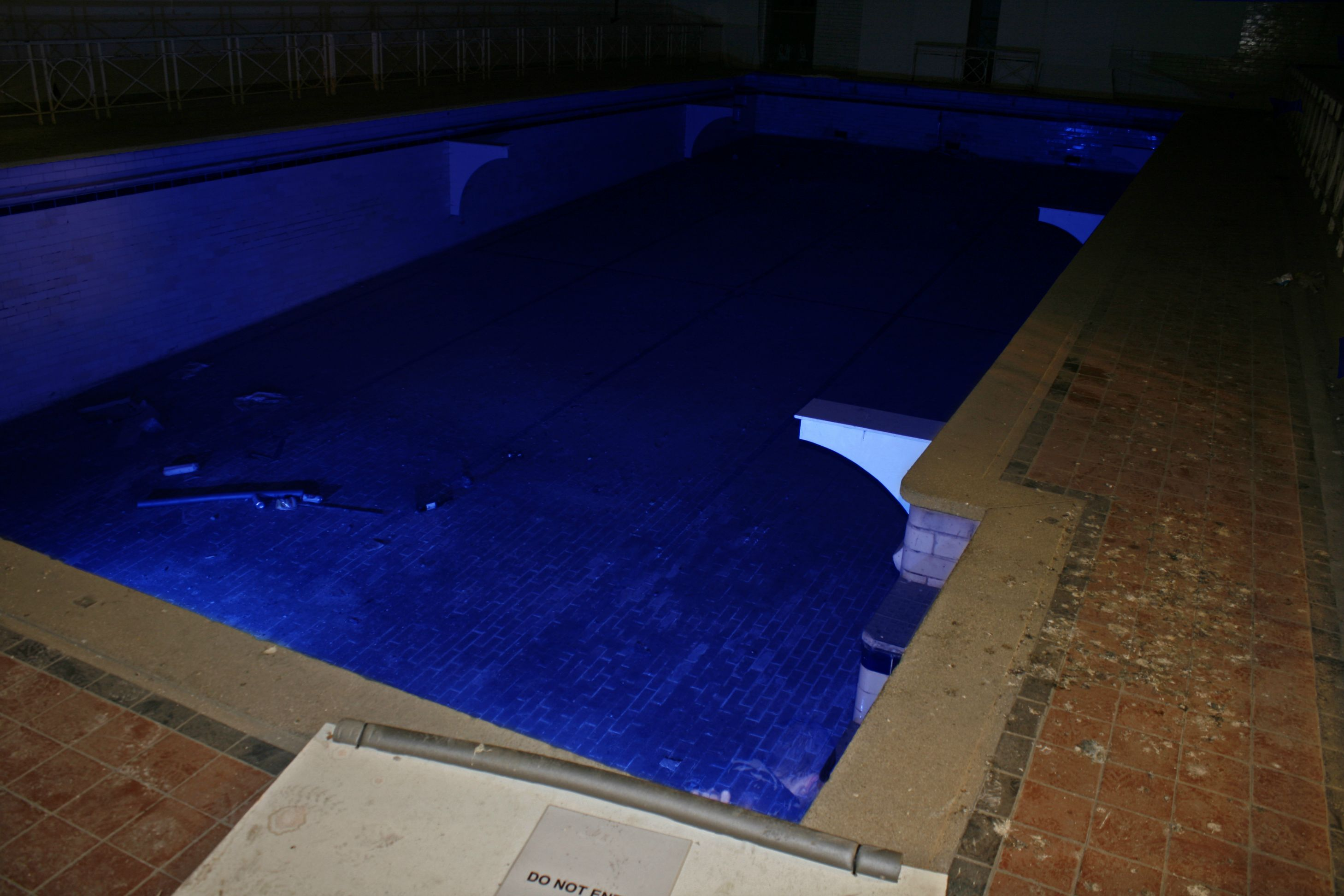 Jails, Offices, Workshop And Swimming Pool