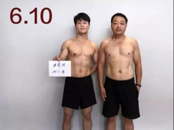 Chinese Family Loosing Weight after 6 Month of Workout
